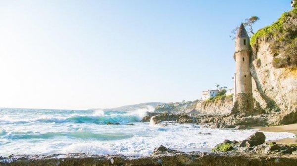 Позабытая башня Рапунцель в Калифорнии