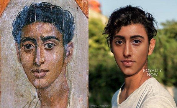 Фаюмские портреты: неизвестный мужчина