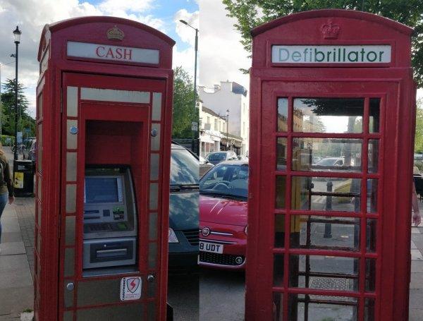 Старые телефонные кабинки в Великобритании переоборудуют для других целей