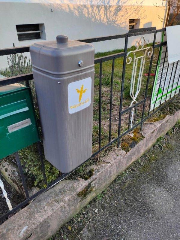 Служба ежедневной доставки багетов работает во Франции