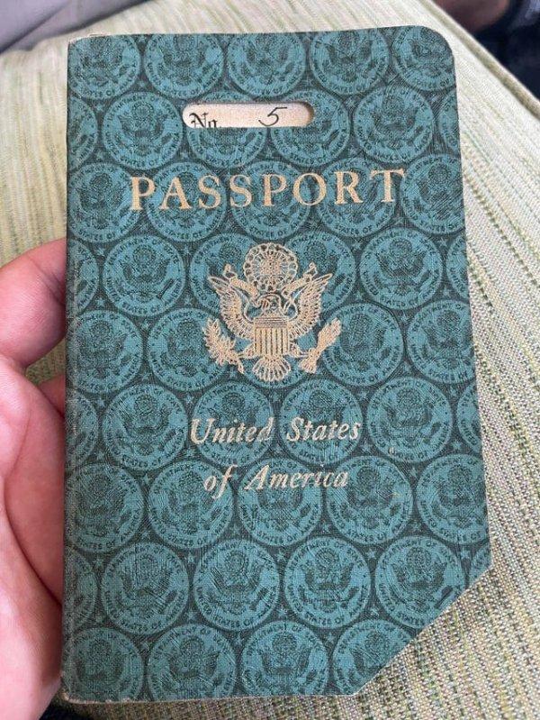Паспорт 1941 года