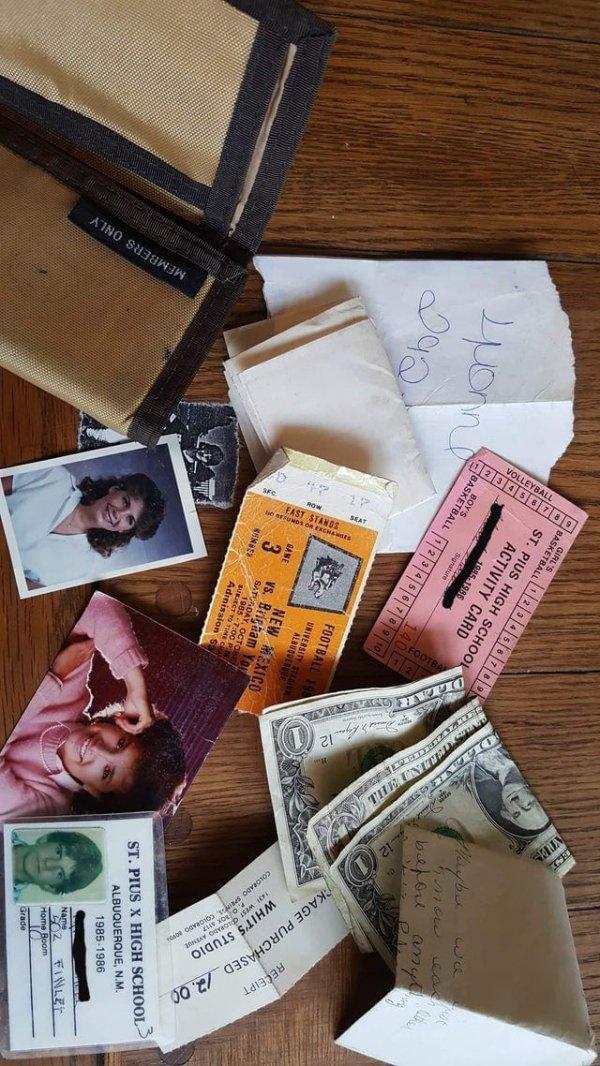 Нашёл свой бумажник 1985 года в старой куртке. Кадр из жизни мальчика-подростка 80-х годов