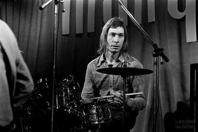 Редкие архивные фото Чарли Уоттса и группы Rolling Stones