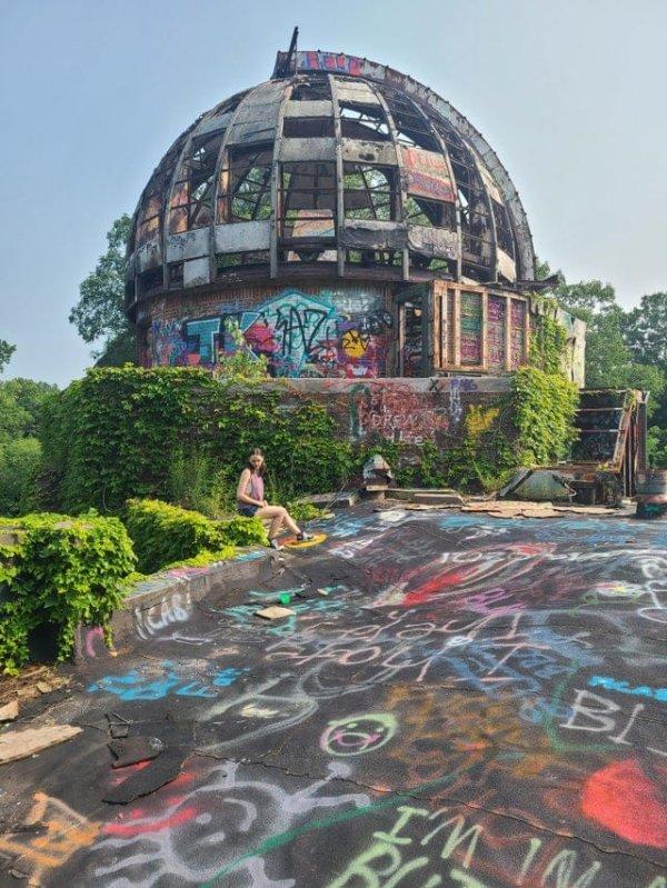 Заброшенная обсерватория