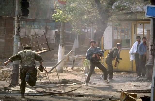 Бои за Грозный, август 1996-го.