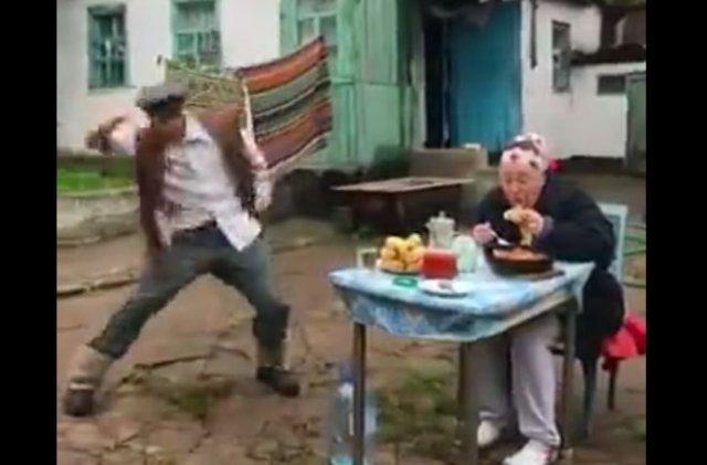 Пятничное веселье на селе