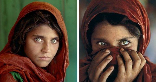 Шарбат Гула или «Афганская девочка»