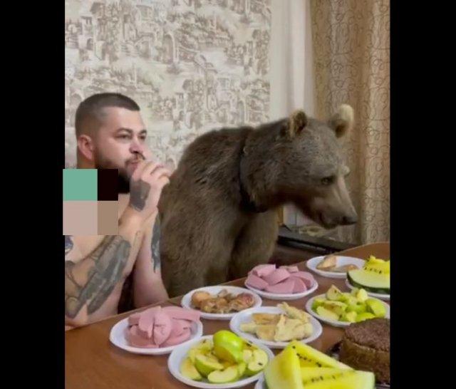 """""""Обычный"""" обед в России"""