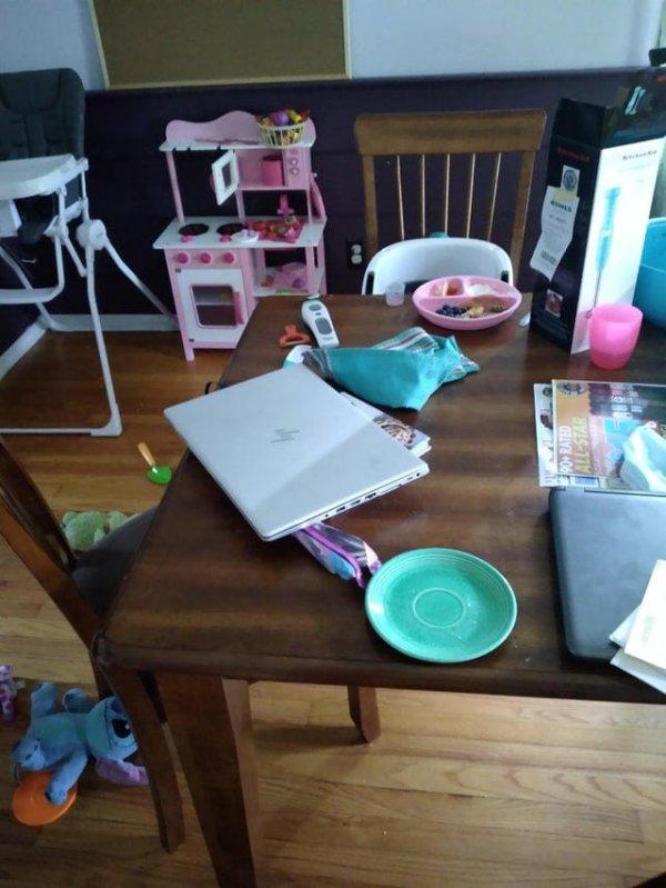 Чуть не словил сердечный приступ, когда решил, что мой ноутбук погнули
