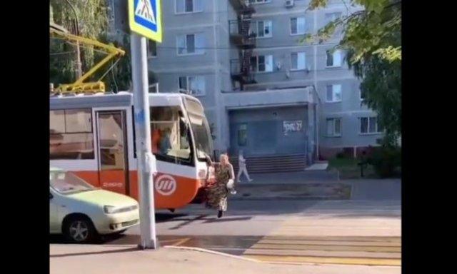 Бабуля из Ульяновска, которая не хочет платить за проезд