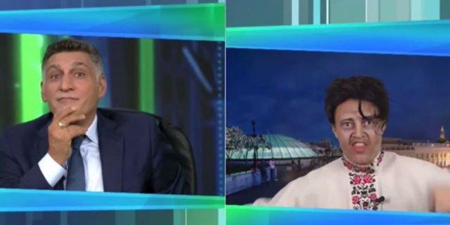 Как в передаче Тиграна Кеосаяна показывают президента Украины Владимира Зеленского