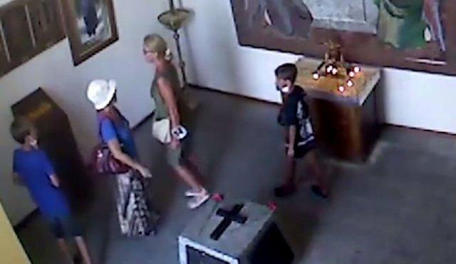 В Севастополе детишки решили ограбить церковь - не получилось