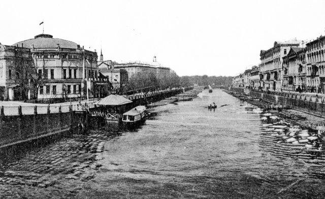 Старый Петербург. Набережные Фонтанки