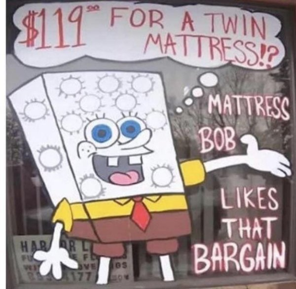 Матрас Боб квадратные пружины