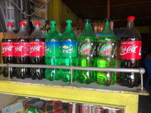 Club Cola, Right и Monsoon New