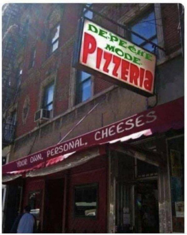 Depeche Mode пиццерия