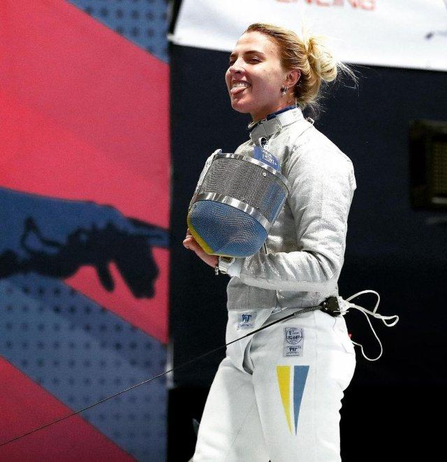 Украинская фехтовальщица Ольга Харлан проиграла Олимпиаду из-за отсутствия интимной близости