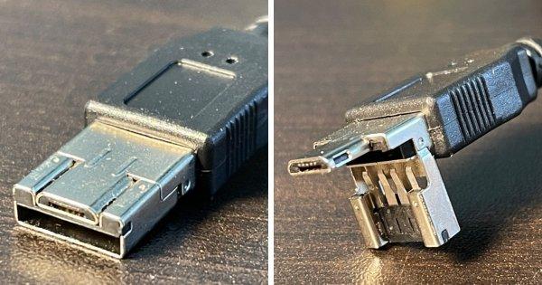 Этот разъём USB может переключаться между типом A и micro B