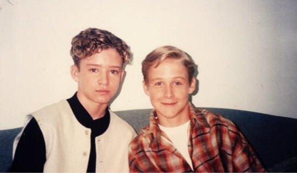 Джастин Тимберлейк и Райан Гослинг в детстве