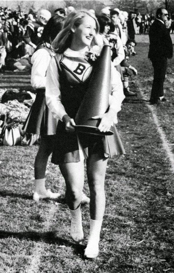 В школе Мерил Стрип была чирлидершей