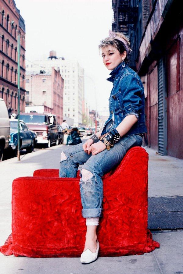 Мадонна в Нью-Йорке, 1983 год