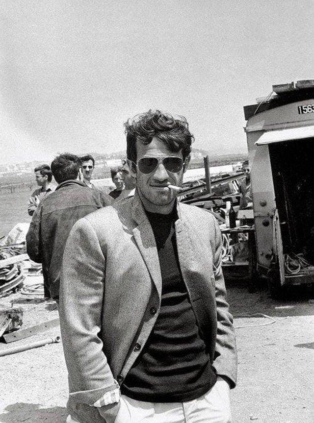 Жан-Поль Бельмондо фото: архивные кадры великого французского актера