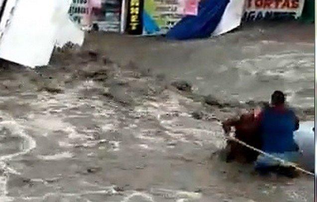 Чудесное спасение мальчика в городе Экатепека