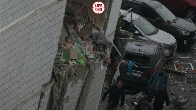 В одной из многоэтажек Ногинска произошел мощный взрыв газа