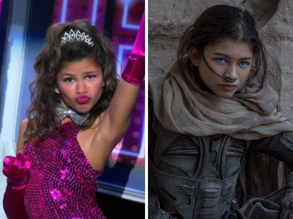 Зендея сыграла одну из двух главных ролей в сериале «Танцевальная лихорадка!» — танцовщицу Рокки Блю