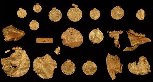 золото викингов
