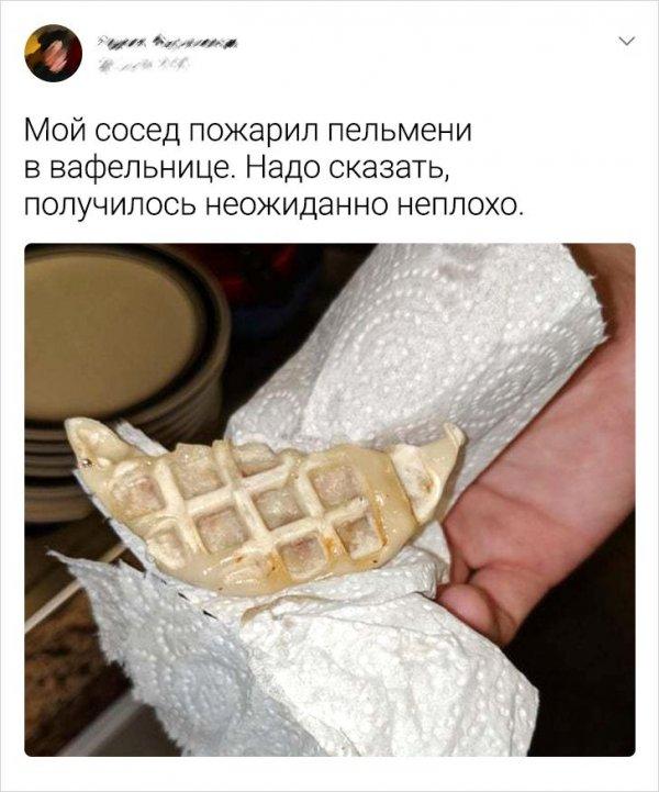 Подборка забавных твитов о еде