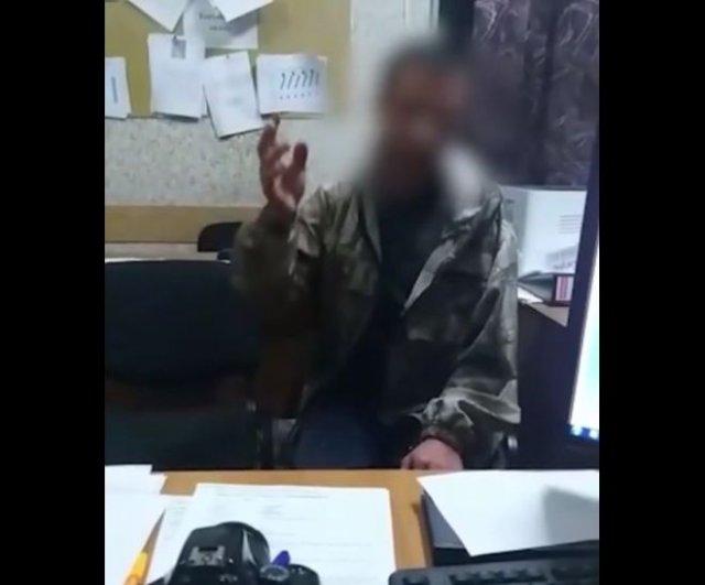 Пьяный мужик вызвал полицию, сообщив о минировании, чтобы ему дали прикурить