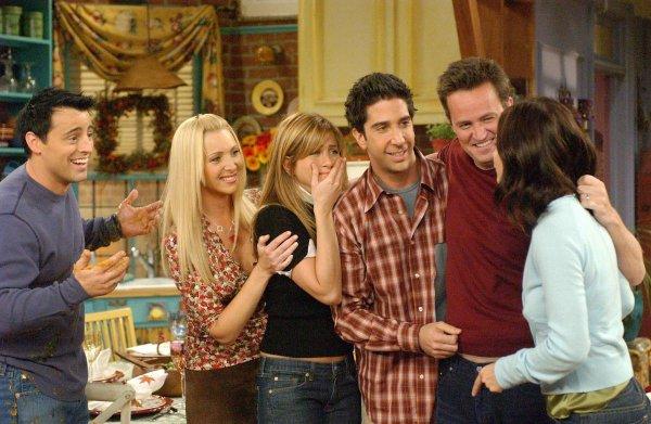 Четверо актёров сериала «Друзья» получили номинацию как «Худшие новые звёзды» в 1996 году