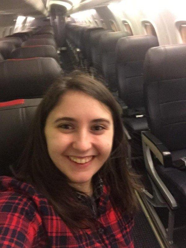Случайно купила билет на рейс, на котором никто не должен был лететь