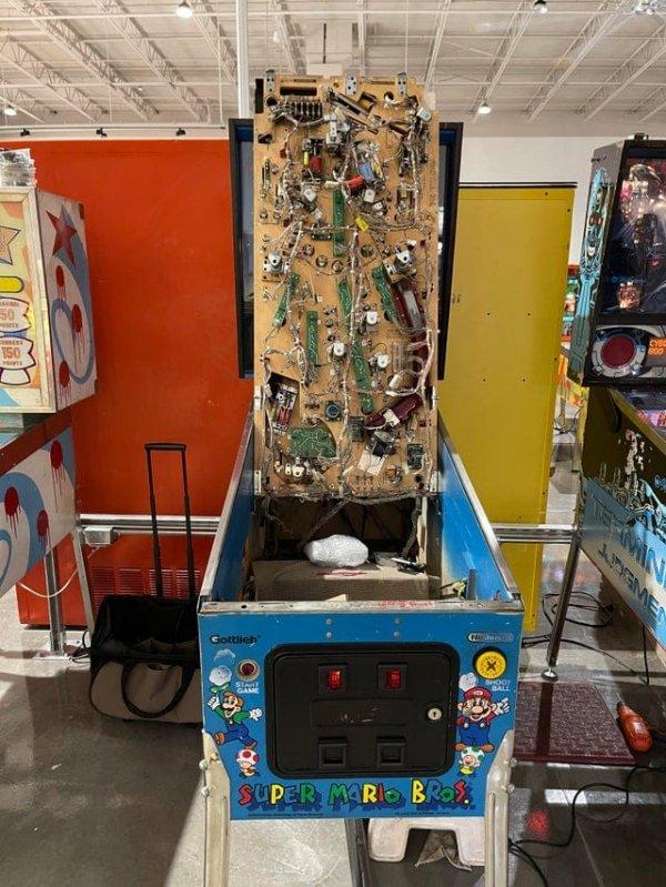 Механизм автомата для пинбола