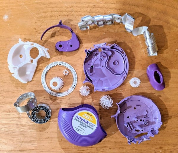 Составные части ингалятора