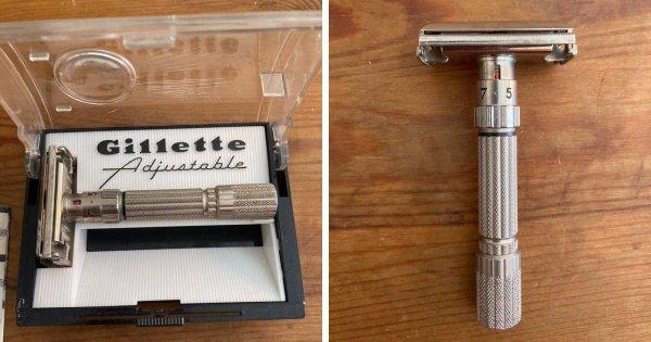 Gillette 1958 года. Всё ещё используется почти ежедневно