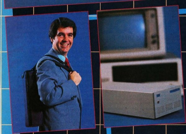 Переносной диск на 20 мб, 1985 год