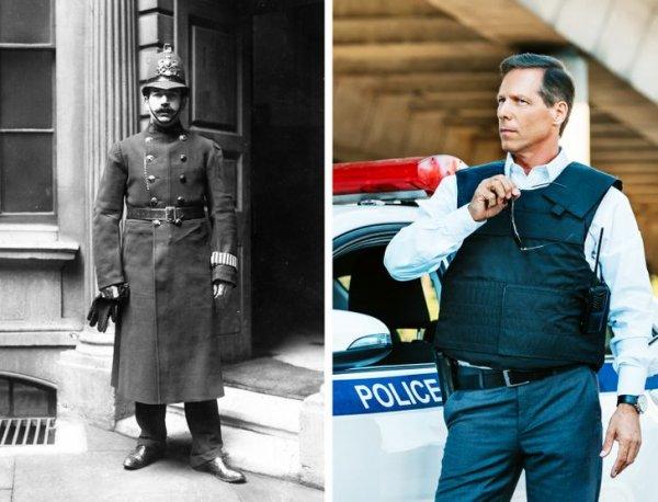 Полицейский начала ХХ века и сейчас