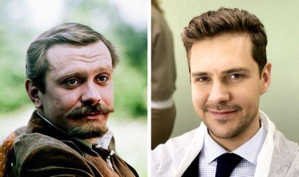 Никита Михалков и Милош Бикович в 33 года