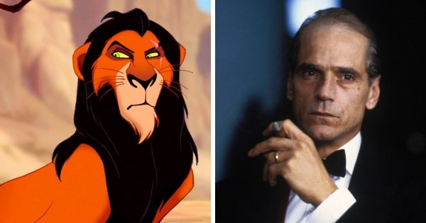 Шрам из «Короля льва» (1994) — Джереми Айронс