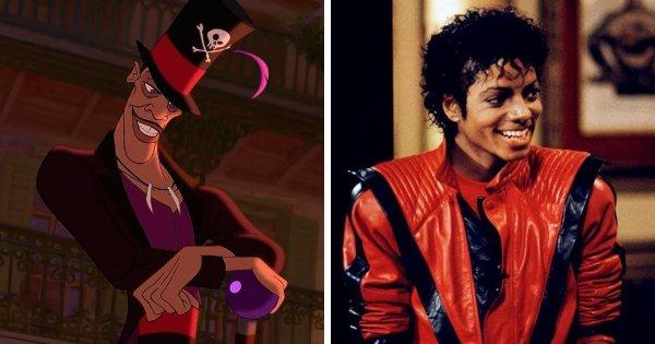 Доктор Фасилье из «Принцессы и лягушки» (2009) — Майкл Джексон