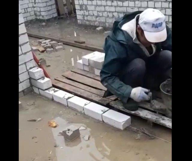 Вот так строят дома в наши дни