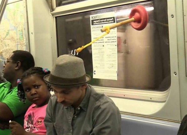 Очередной день в метро