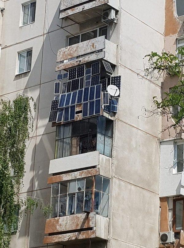 Альтернативные источники энергии на отдельно взятом балконе