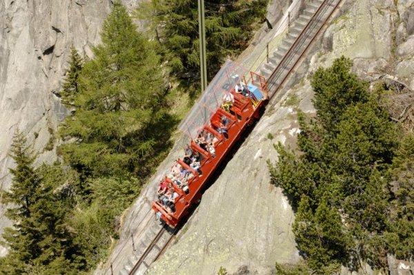 Швейцария — страна фуникулеров и канатных дорог