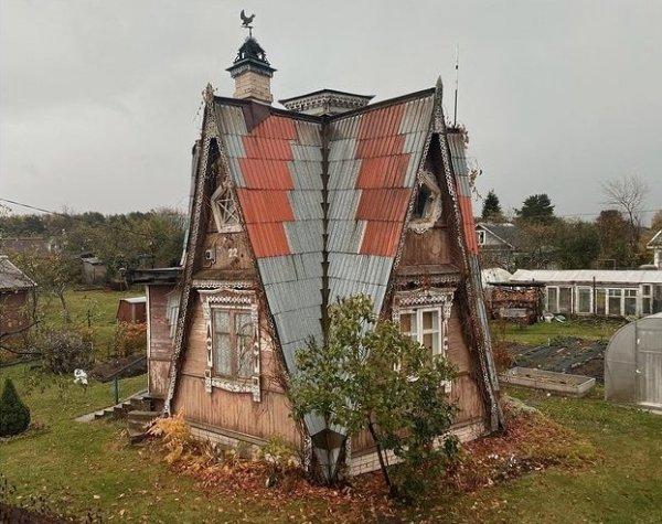 Уникальный дом, построенный после войны бывшим лётчиком фронтовиком