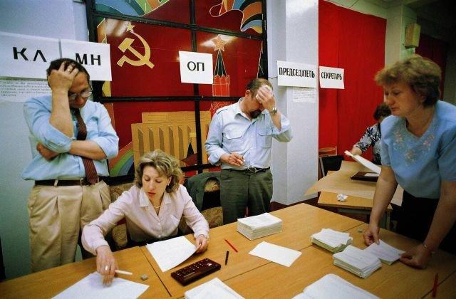 Подсчет голосов на президентских выборах в РСФСР, 12 июня 1991