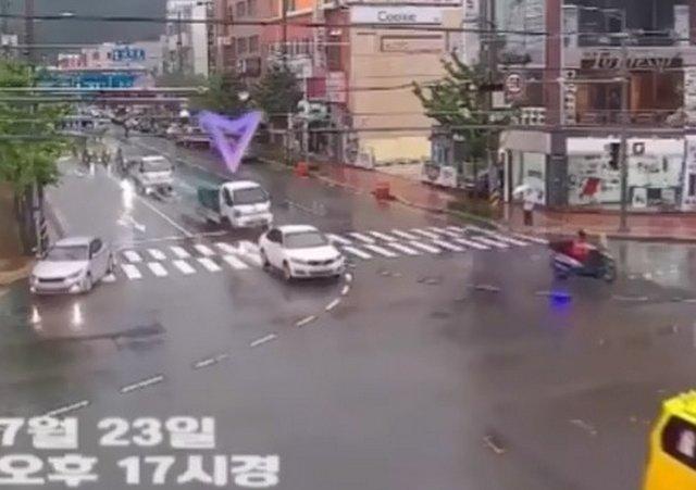 Случай на дорогах Кореи