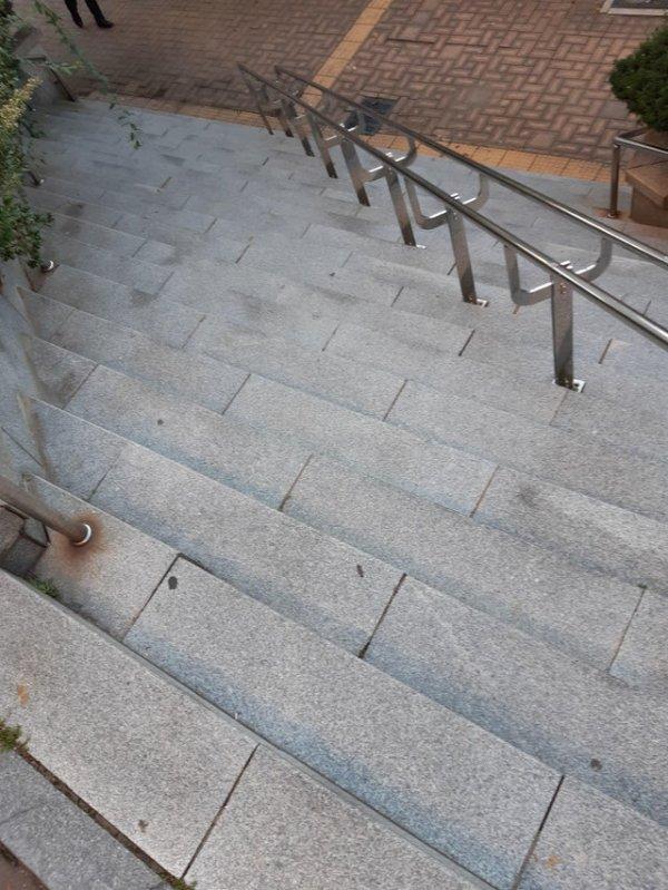 Впервые вижу такую лестницу